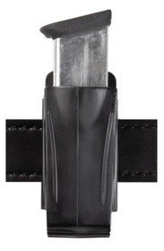 Safariland Single Magazine Pouch 9mm, Single/Double Stack, Black Polymer