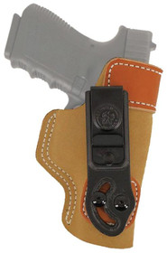 Desantis Inside-the-Waist #106 Keltec P3AT/Ruger LCP, Tan Leather, Right Hand