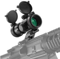 Barska Tactical 1x 30mm 3 MOA Red Dot Black