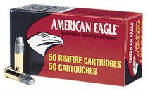 Federal American Eagle High Velocity 22LR 40gr, Solid, 50rd/Box