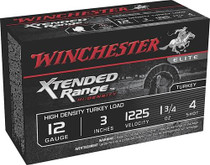"Winchester Supreme Elite Xtended Range HD Turkey 12 Ga, 3"", 1-3/4oz, 4 Shot, 10rd/Box"