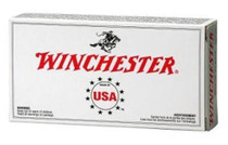 Winchester USA 9mm 115 Gr, FMJ, 50rd Box