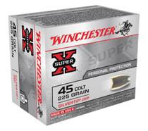 Winchester Super X 45 Colt Silvertip HP 225gr, 20Box/10Case