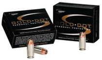 Speer Gold Dot .45 GAP 185 Gr, Hollow Point, 20rd Box, 25 Box/Case