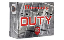 Hornady Critical Duty 10mm, 175 Gr, Flexlock Bullet, 20rd/Box