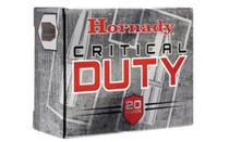 Hornady Critical Duty 10mm, 175 Gr, Flexlock Bullet, 20rd Box