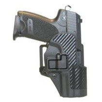 Blackhawk Serpa CQC Holster, H&K USP, Right Hand, BLack, Carbon Fiber,