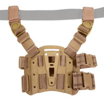 Blackhawk CQC Tactical Holster Platform With Rails Coyote Tan