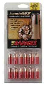 Barnes 45162 Muzzleloader 50 Black Powder Expander MZ 300gr, 24Pk