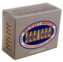 Cor-Bon Self Defense 9mm +P 115 Gr, Jacketed Hollow Point, 20rd/Box
