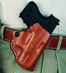 "Desantis Mini Scabbard Fits S&W J- 38, 40, 42, 49, 638, 649 2 1/4"", Black Leather"