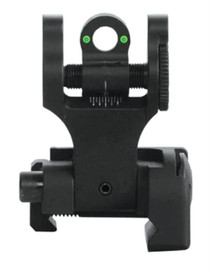 Troy Rear Tritium Folding BattleSight - Black
