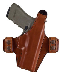 Bianchi 130 Allusion Series Classified Thumb Break Retention Holster Size14 for Colt 1911 Government, Tan, Right Hand
