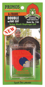 Primos Hunting Calls A-Frame Series Double Turkey With BAT Cut