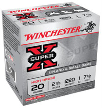 "Winchester 5 Super-X High Brass 20 ga 2.75"" 1 oz 7.5 Shot 25Box/10Case"
