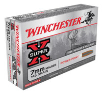 Winchester Super X 7mmX57mm Mauser Power-Point 145gr, 20Box/10Case