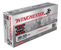 Winchester Super X 38-55 Win Soft Point 255gr, 20Box/10Case