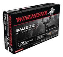 Winchester Supreme 300 Mag Ballistic Silvertip 180gr, 20Box/10Case