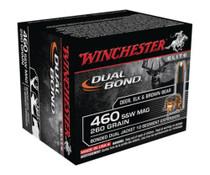 Winchester Dual Bond .460 Smith & Wesson Magnum 260 Grain Dual Bond