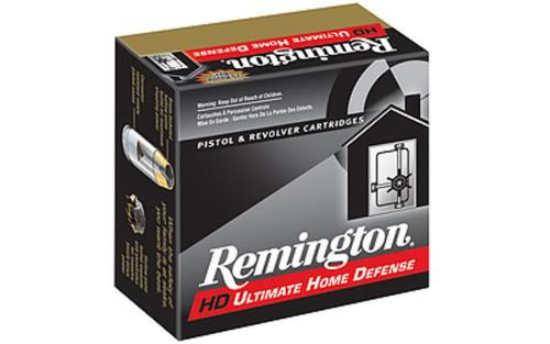 Remington Ultimate Home Defense .38 Special + P 125gr Brass Jacketed Hollow Point 20rd/Box