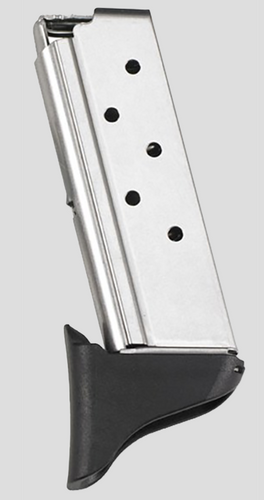Beretta Pico Mag, Finger Extension 380 ACP 6 rd SS Finish