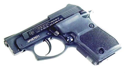 Pearce Grip Taurus PT22/25, Black Rubber