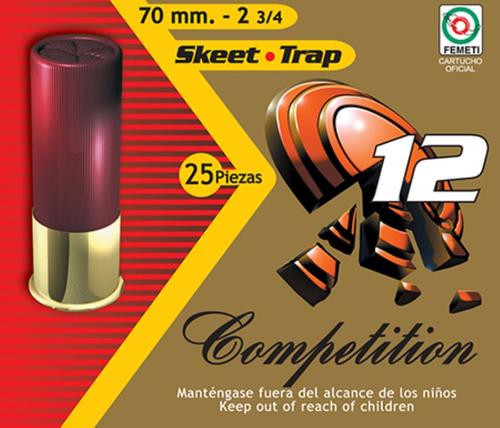 "Aguila Recreational Trap 12 Ga, 2.75"", 7/8 oz, 9 Shot, 25rd/Box"