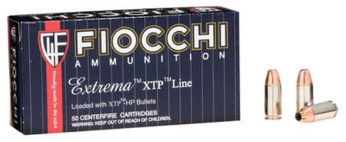 Fiocchi Extrema 9mm 124gr, XTP Hollow Point, 25rd Box