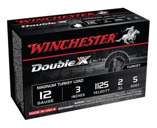 "Winchester Supreme Double X Turkey 12 Ga, 3"", 2oz, 5 Shot, 10rd/Box"