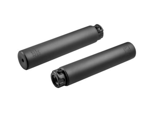 Surefire Socom 338 Titanium Suppressor, Black, 10""