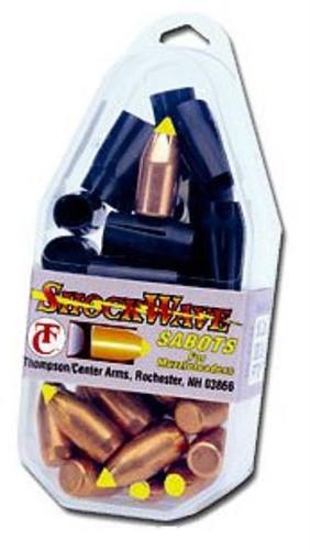 Thompson Center Shockwave .50 Black Powder Shockwave Sabots 200gr, 15/Pack
