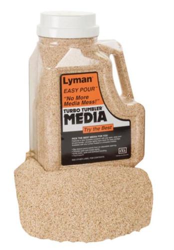 Lyman Easy Pour Untreated Corncob Media Six Pound Container