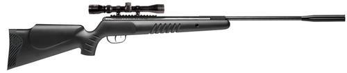 Benjamin Titan NP Air Rifle Break Open .22 Pellet, Scope, Hardwood Stock