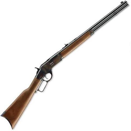 "Winchester 1873 Short, .44-40 Win, 20"", Walnut Stock, Blued"