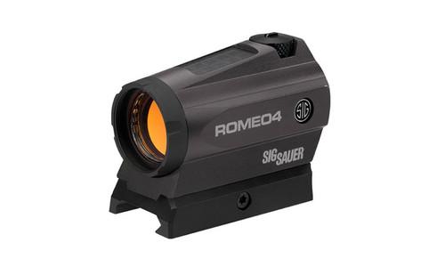 SIG ROMEO4C 1x20 Compact 2MOA Dot W/Solar Power & Battery