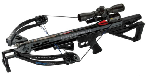 Carbon Express Intercept Supercoil Crossbow 360FPS 4x32mm Scp Typhon Camo