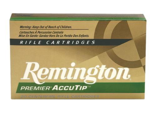 Remington Ammunition Premier 243 Winchester AccuTip 75gr, 20Box/10Case