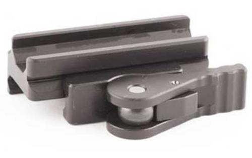 American Defense Mfg. Base Mount, Picatinny, Fits ACOG/Aimpoint, Quick Release, Medium Height, Black