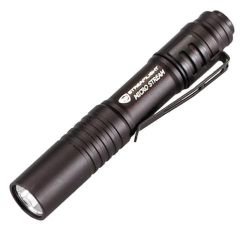 Streamlight MicroStream Black Blister Packaged - White LED