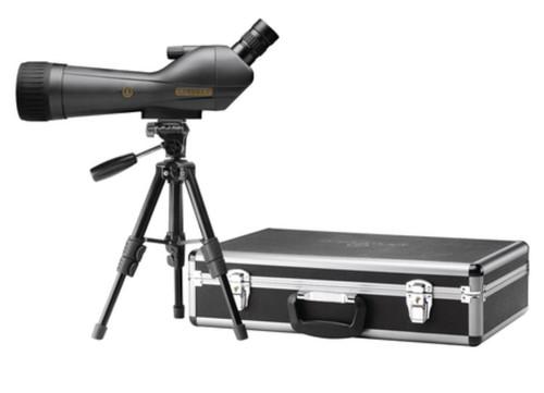 Leupold SX-1 Ventana HD Spotting Scope 20-60x80mm Angled Eyepiece Black With Kit