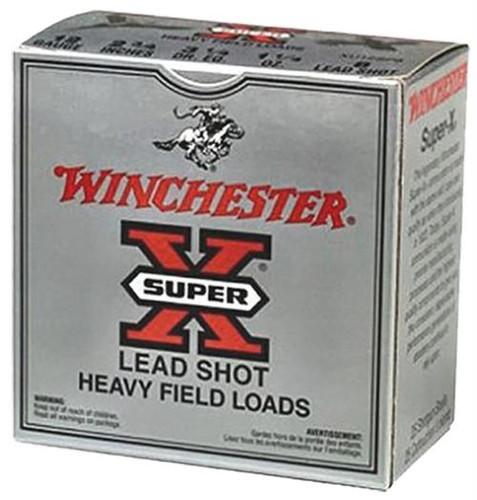 "Winchester Super-X Heavy Game Load 12 Ga, 2.75"", 1.1oz, 6 Shot, 25rd/Box"