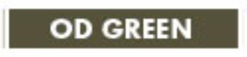 ERGO Full Cover Rail Cover, Long - 15 Slot OD Green