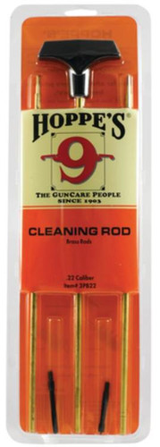 Hoppe's 3 Piece Aluminum Cleaning Rod .22 Caliber