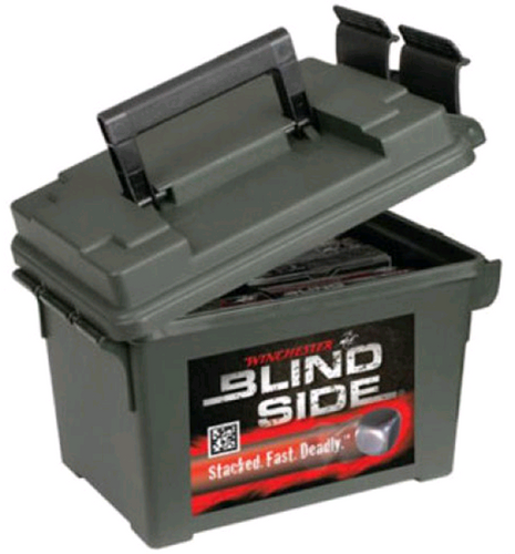 "Winchester Blind Side Waterfowl 12 Ga, 3 "", 1400 FPS, 1.3oz, BB Shot, 100rds/Ammo Can"