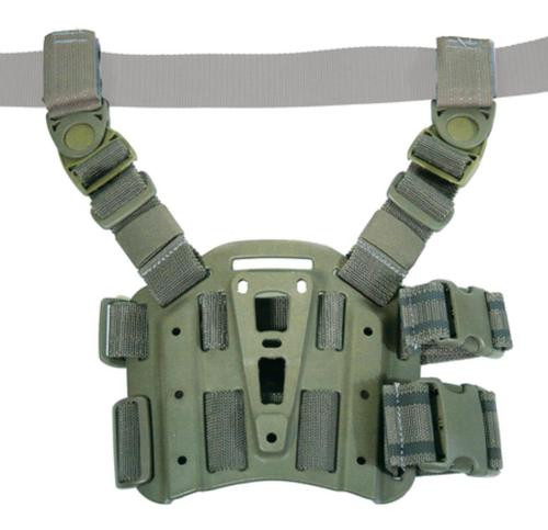 Blackhawk CQC Tactical Holster Platform With Rails Olive Drab
