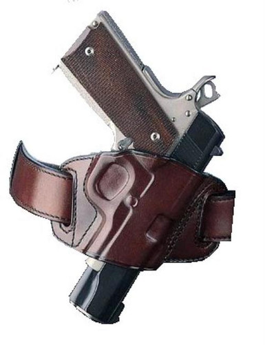 Galco Quick Slide 248H Fits Belt Width up to 1.50 Havana Brown Leather