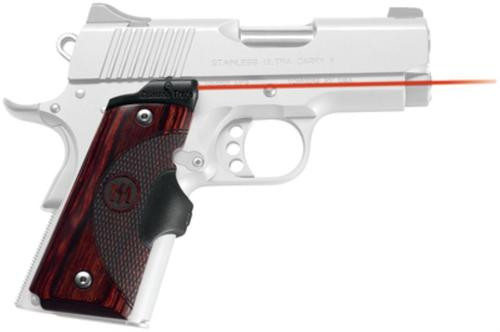 Crimson Trace Master Series 1911, Compact Rosewood, Red
