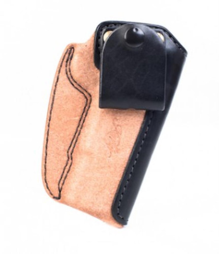 """Kimber IWB Holster Full-size (5"""") 1911 Black/natural leather by Mitch Rosen"""