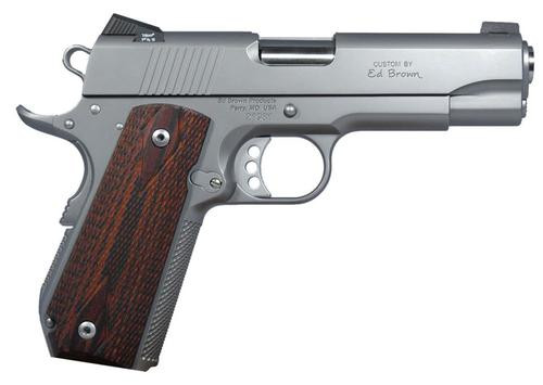"ED BROWN-9MM Commander 1911 BOBTAIL 4"" Barrel 7 Rd Mag"