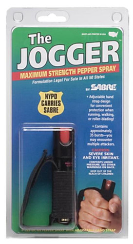 Security Equipment Corp SABRE SABRE Jogger Pepper Spray for Runners (0.75 oz)
